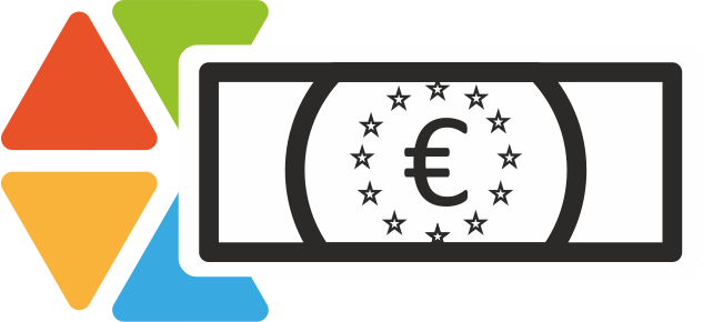 Logo mit Geldschein